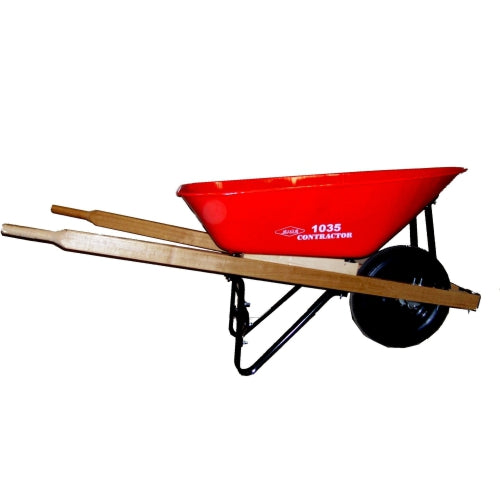 Erie 1035 6 cu. ft. Contractor Wheelbarrow (532963295268)