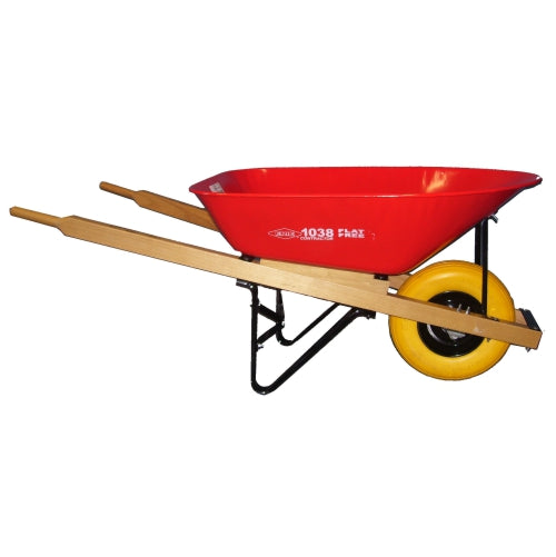 Erie 1038  6 cu. ft. Wheelbarrow with Flat Free Tire (532970438692)