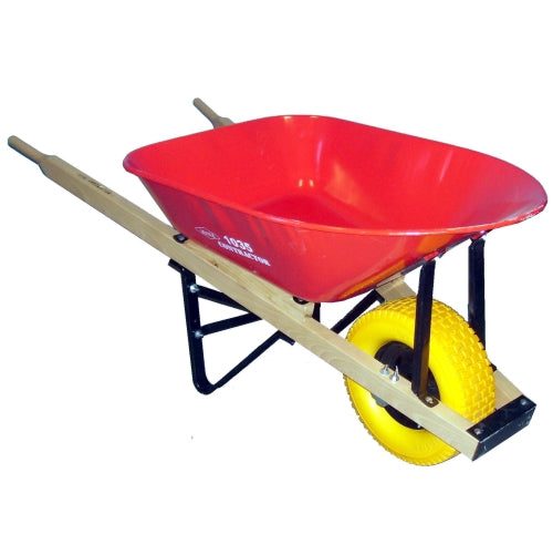 Erie 1039 6 cu. ft. Wheelbarrow with Flat Free Tire (532976107556)