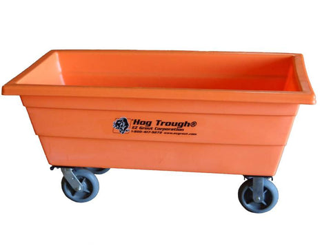 EZG HTP10W Poly Hog Trough w/ Wheels