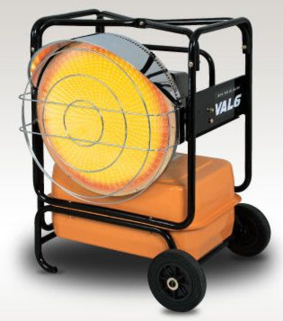 Val6 KBE5L 2-Step Radiant Heater