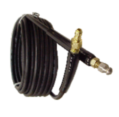 DRAIN CLEANING KIT (1/4″ MEGA FLEX HOSE)