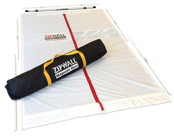 ZipWall® Magnetic Dust Barrier Door Kit