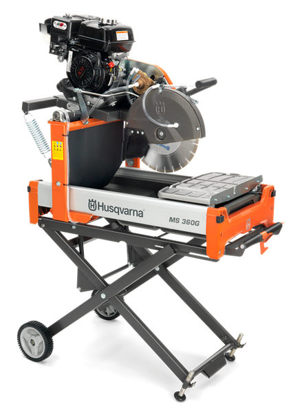 Husqvarna MS 360G Masonry Saw (9109836933)