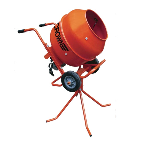 Crown MAX MIX - 3 Cu Ft, Steel Drum, Pedestal/Wheelbarrow- FREE DEPOT SHIPPING (conditions apply) (1237689565220)