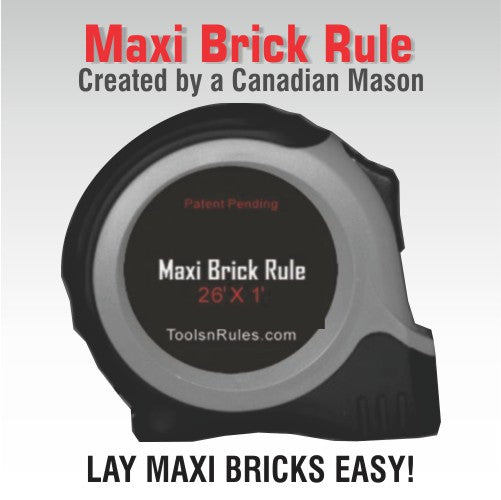 Great Canadian Maxi Brick Rule
