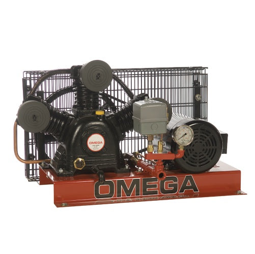 Omega Fire Sprinkler Compressors - Base Mounted (6066569937056)