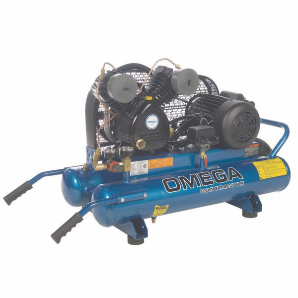 Omega Contractor Series - Electric Belt Driven Oil Lube
