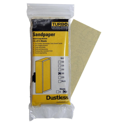 Dustless Sandpaper 150 Grit 25 Pack (1049109823524)