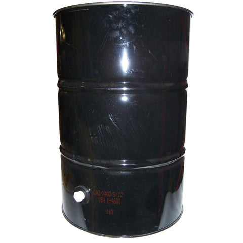 Dustless 55 gal Slurry Vacuum Drum w drain