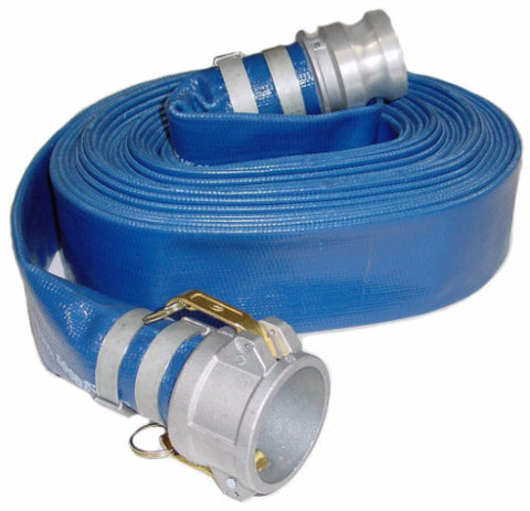 "2"" X 50Ft Hose with Couplings"