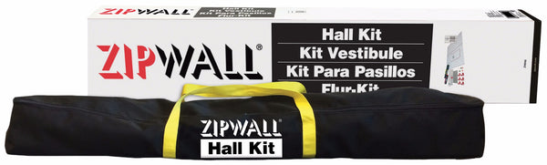 ZipWall® Hall Dust Barrier Kit