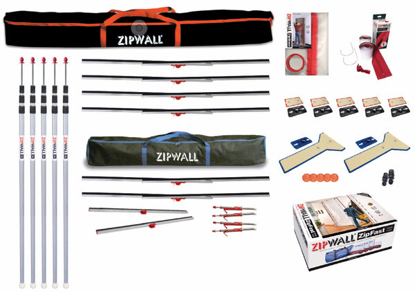 ZipWall® Dust Barrier Toolkit (7756251653)