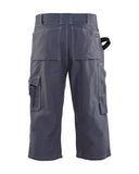 CLEARANCE - Blaklader 1606-1370  3/4 Flooring Pant Grey (4365220216963)