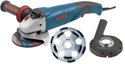5 In. Angle Grinder with Concrete Cutting Kit