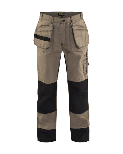 CLEARANCE - Blaklader 1680-1380 Heavy Work Pant KHAKI/BLACK