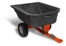 Husqvarna 12.5 cu. ft. Poly Swivel Utility Dump Cart