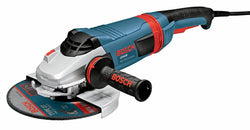 7 In. 15 A High Performance Large Angle Grinder with No Lock-On Switch