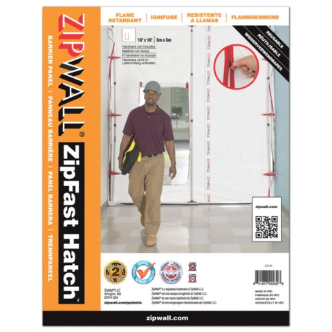 ZipWall® ZipFast Hatch™ Panel