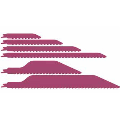 Danish Tools Carbide Reciprocating Saw Blades - Pink (1367360471076)