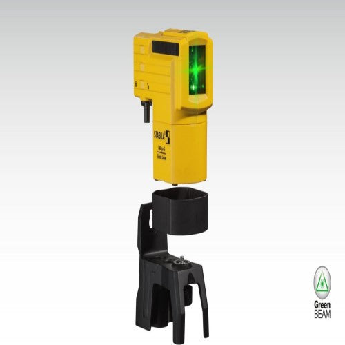 CLEARANCE - Stabila LAX 50 G Green Beam Cross Line Laser With Telescopic Mount