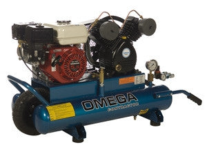 Omega Contractor Series - Gas Belt Driven Oil Lube