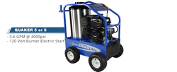 Quaker 5 Commercial Hot Water Gas Pressure Washer