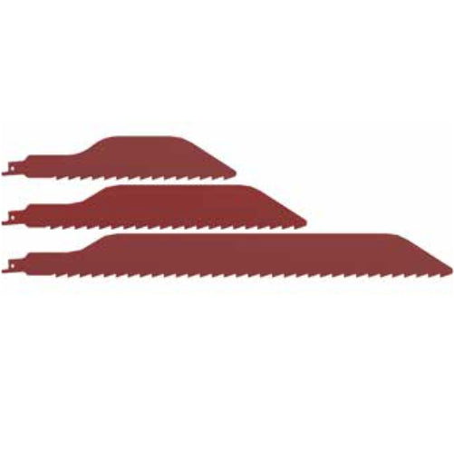 Danish Tools Carbide Reciprocating Saw Blades - Red (1367385407524)