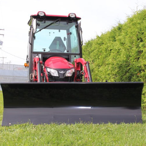 BERCOMAC Residential Type Snow Blade for Tractors with Skid Steer Attach