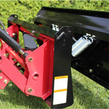 BERCOMAC Residential Type Snow Blade for Tractors with Skid Steer Attach (963689676836)