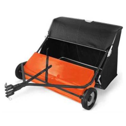 "Husqvarna 42"" Lawn Sweeper with Spiral Brush"
