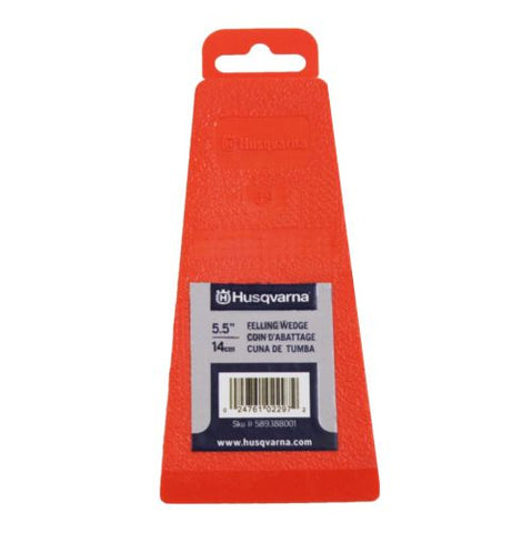 "Husqvarna 5.5"" Felling Wedge w/Tab (424791015460)"