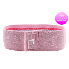Pink Sparkle Home Workout Bands