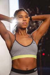 Fit African American Woman - Workout Bands - SuzieB Fitness