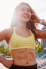 fit woman smiling - Affordable Home Workout Bands