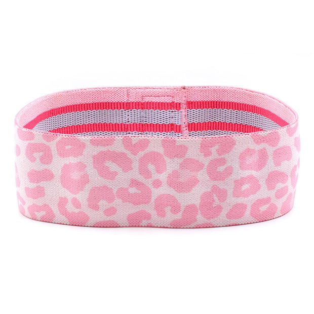 PINK LEOPARD GLUTE BAND