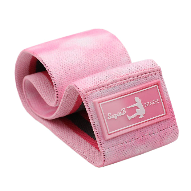 Best Light Pink Tie Dye Glute Band