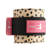 CHEETAH ANKLE STRAPS