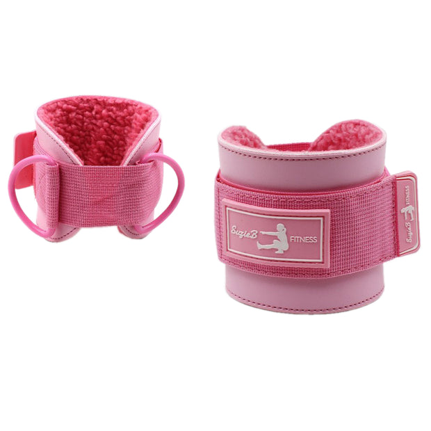 PINK ANKLE STRAPS