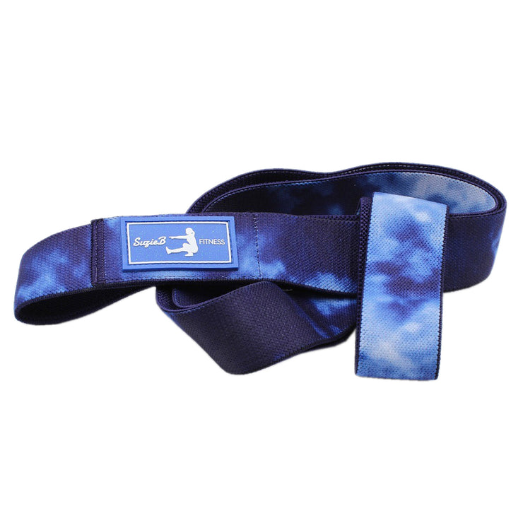 NAVY TIE DYE LONG BAND