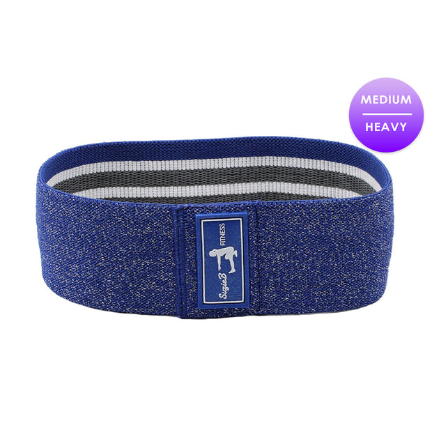 BLUE SPARKLE GLUTE BAND