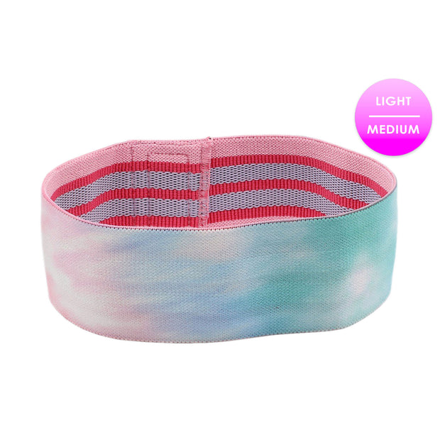 PASTEL TIE DYE GLUTE BAND