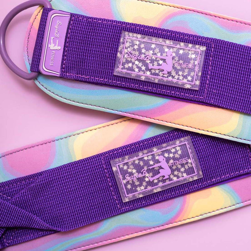HOLOGRAPHIC ANKLE STRAPS