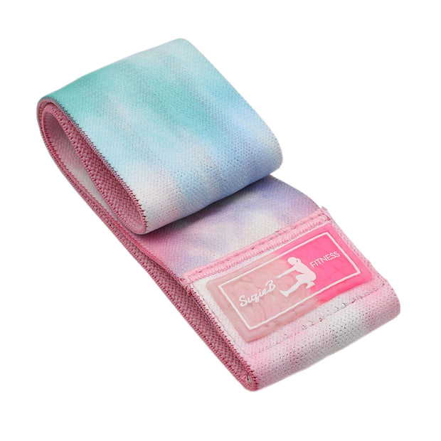 Best Pastel Tie Dye Glute Band
