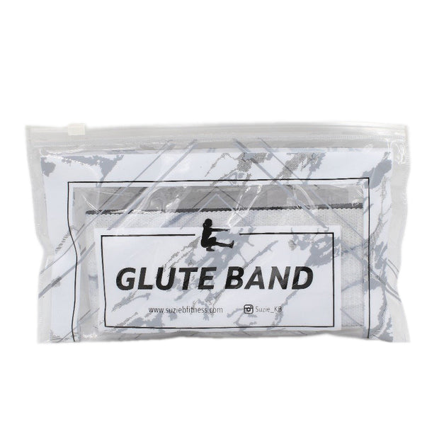 WHITE MARBLE GLUTE BAND
