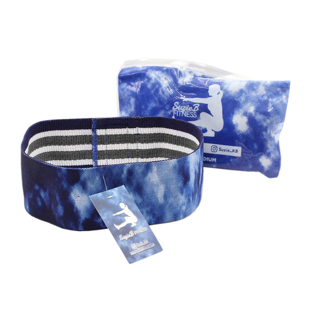 NAVY TIE DYE GLUTE BAND