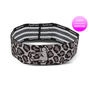 GREY LEOPARD GLUTE BAND