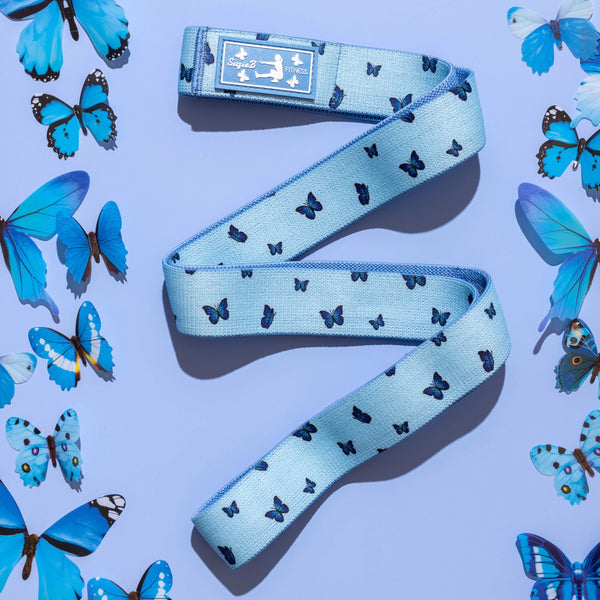 BLUE BUTTERFLY LONG BAND