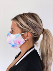 RAINBOW DYE CLOTH MASK
