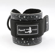 BLACK STAR ANKLE STRAPS